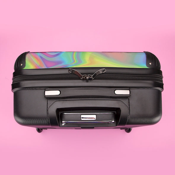 ClaireaBella Hologram Weekend Suitcase - Image 8