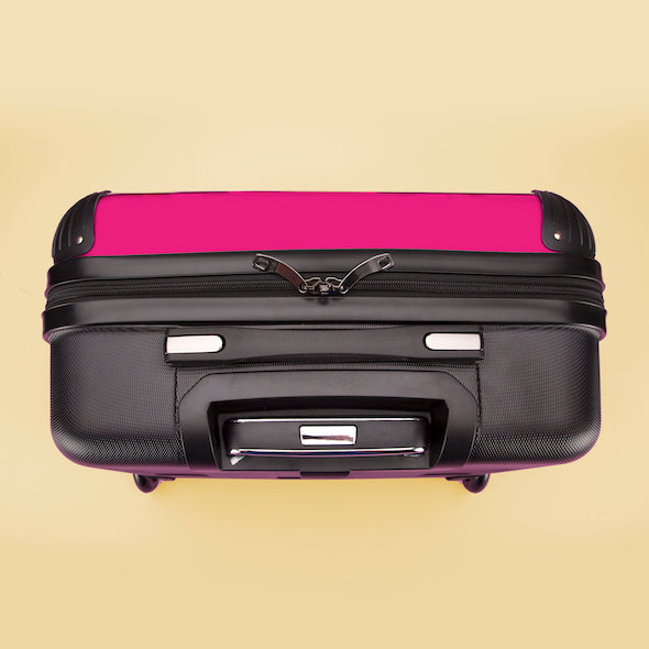 ClaireaBella Hot Pink Weekend Suitcase - Image 8