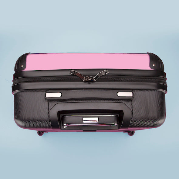 ClaireaBella Girls Pastel Pink Weekend Suitcase - Image 7