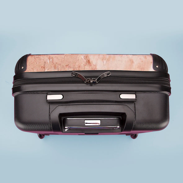 ClaireaBella Girls Marble Effect Weekend Suitcase - Image 8
