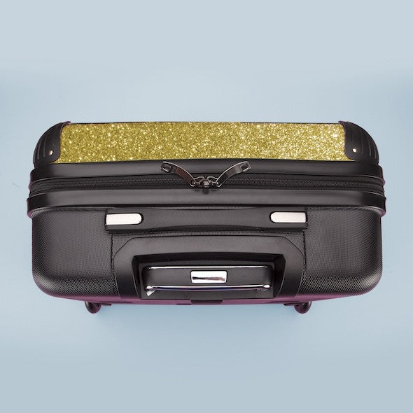ClaireaBella Girls Ombre Glitter Effect Weekend Suitcase - Image 6