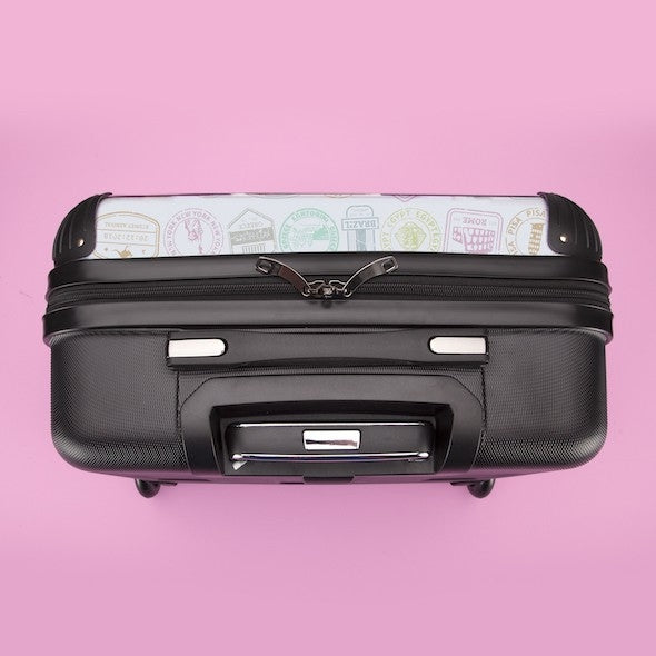ClaireaBella Travel Stamp Weekend Suitcase - Image 7