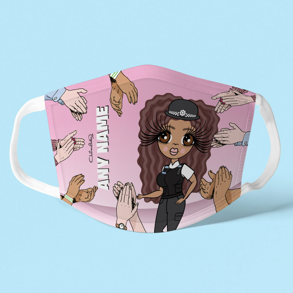 ClaireaBella Personalised Applause Reusable Face Covering