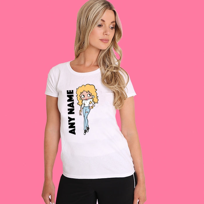 Betty Boop Personalised T-shirt - Image 4