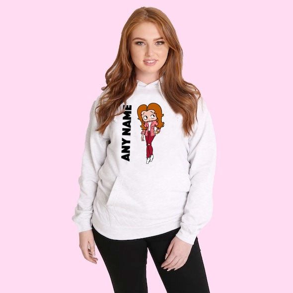 Betty Boop Personalised Hoodie - Image 3