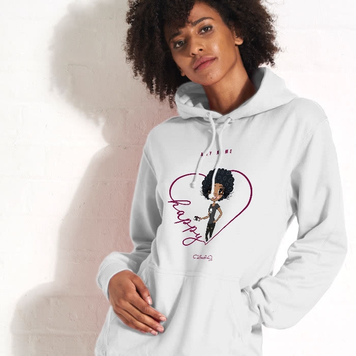 ClaireaBella Happy Hoodie - Image 1