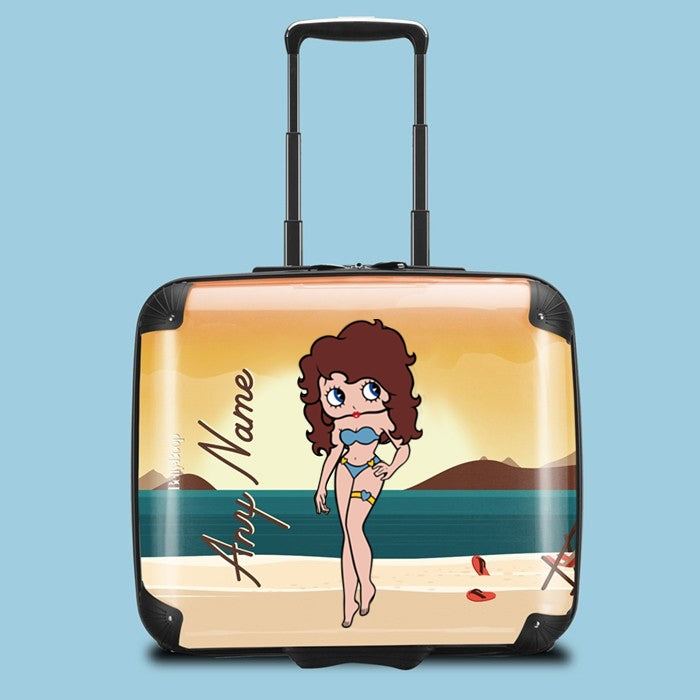 Betty Boop Sunset Beach Weekend Suitcase - Image 1