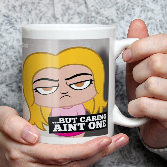 Grumpy Cat 99 Problems Mug - Image 3
