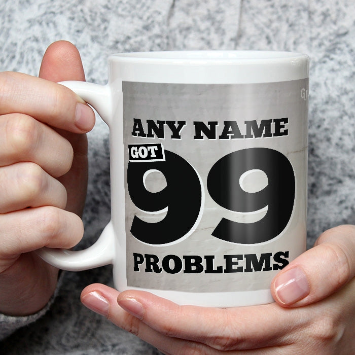 Grumpy Cat 99 Problems Mug - Image 4