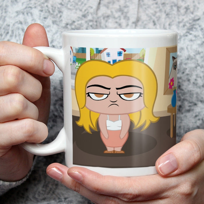 Grumpy Cat Rise And Shine Mug - Image 3