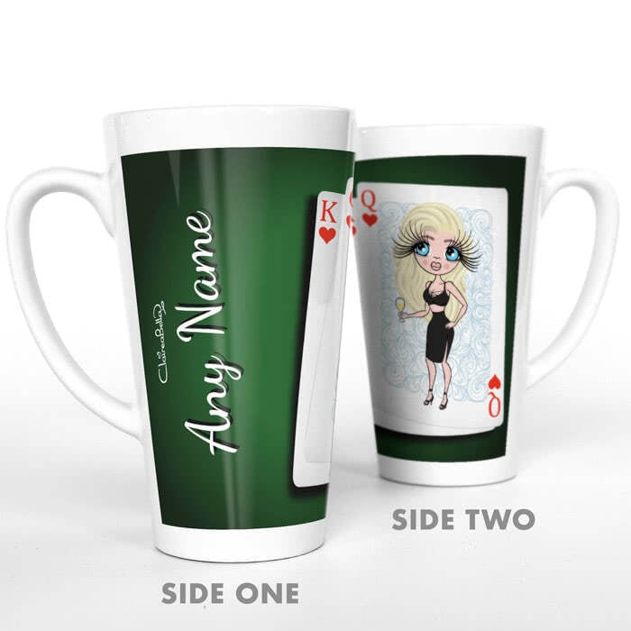 ClaireaBella Queen Of Hearts Latte Mug - Image 2