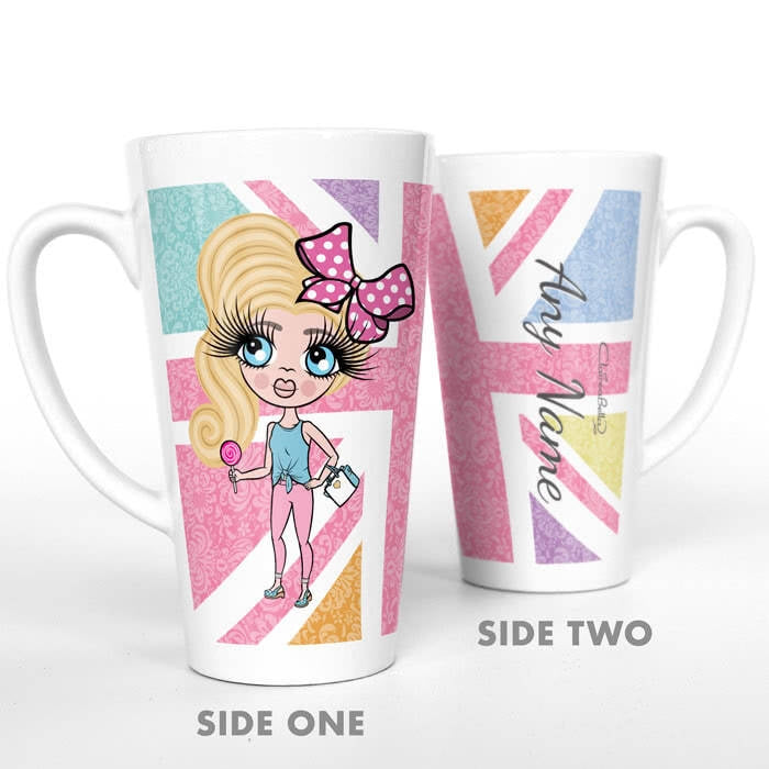 ClaireaBella Girls Union Jack Latte Mug - Image 5
