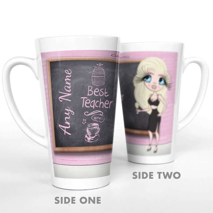 ClaireaBella Best Teacher Latte Mug - Image 2