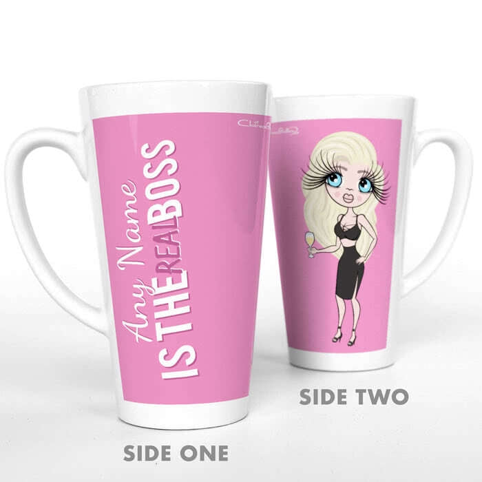 ClaireaBella The Real Boss Latte Mug - Image 2
