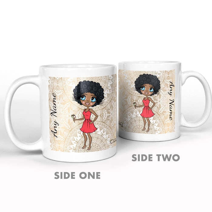 ClaireaBella Golden Lace Mug - Image 5