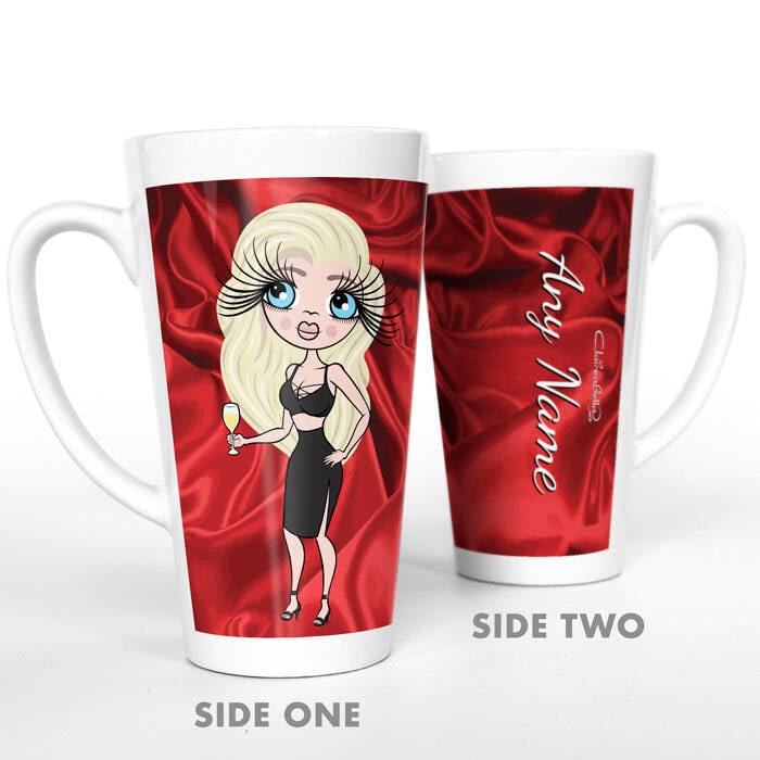 ClaireaBella Silky Satin Effect Latte Mug - Image 4