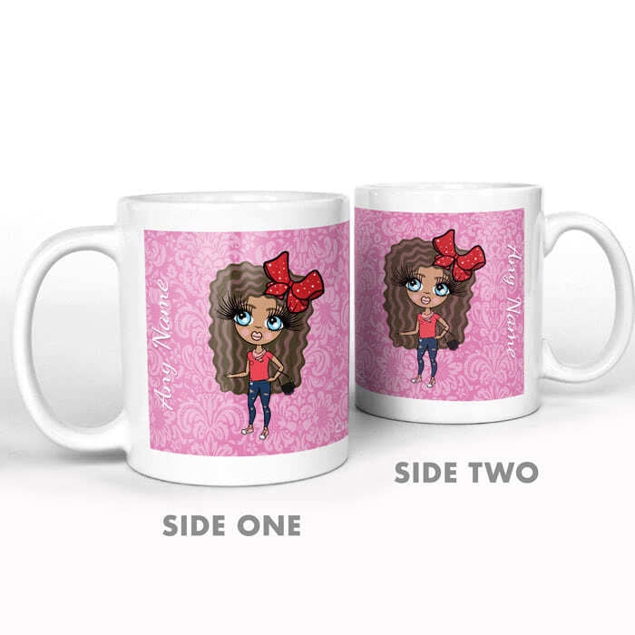 ClaireaBella Girls Lilac Floral Mug - Image 5