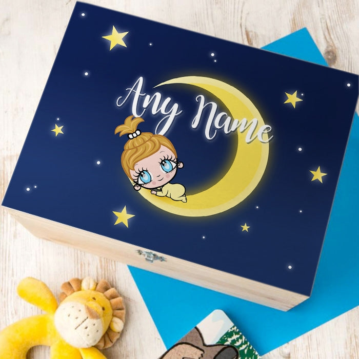 Early Years Moon & Stars Keepsake Box - Image 1