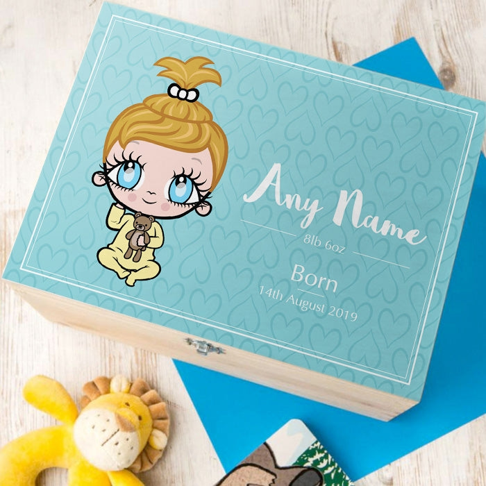 Early Years Baby Blue Keepsake Box - Image 1
