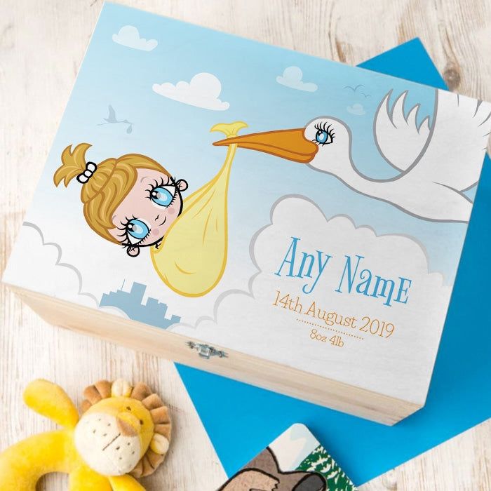 Early Years Baby Stork Keepsake Box - Image 1