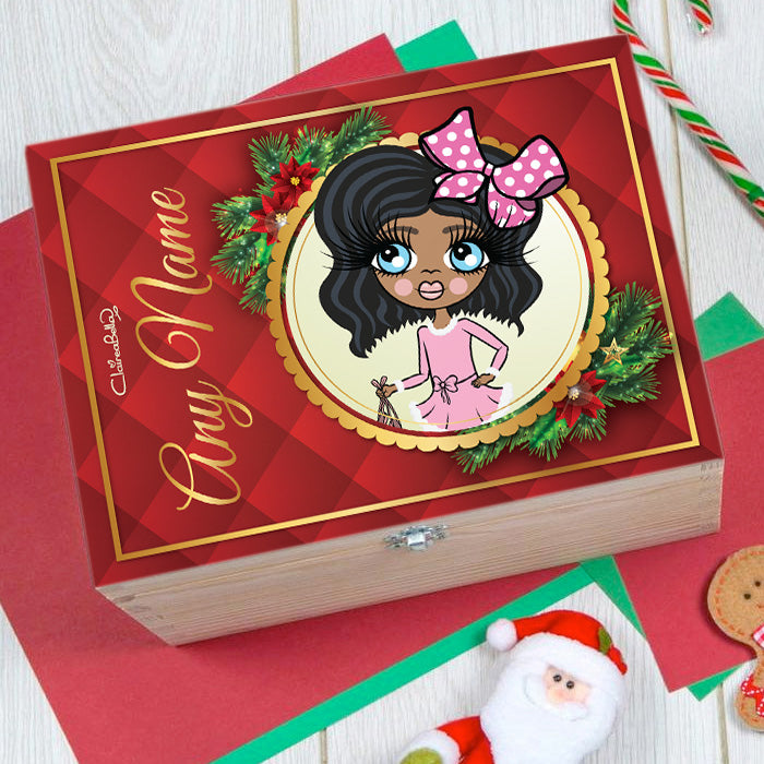 ClaireaBella Girls Festive Fun Christmas Eve Box