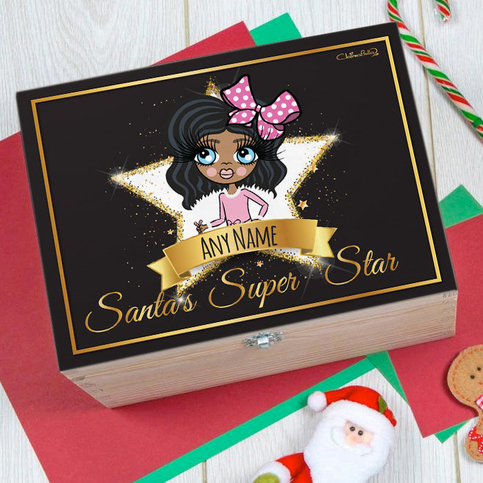 ClaireaBella Girls Super Star Christmas Eve Box