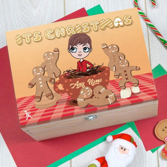 Jnr Boys Gingerbread Joy Christmas Eve Box - Image 1