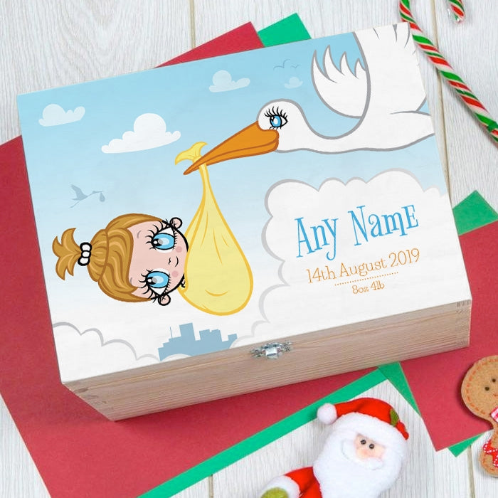 Early Years Baby Stork Keepsake Box - Image 2