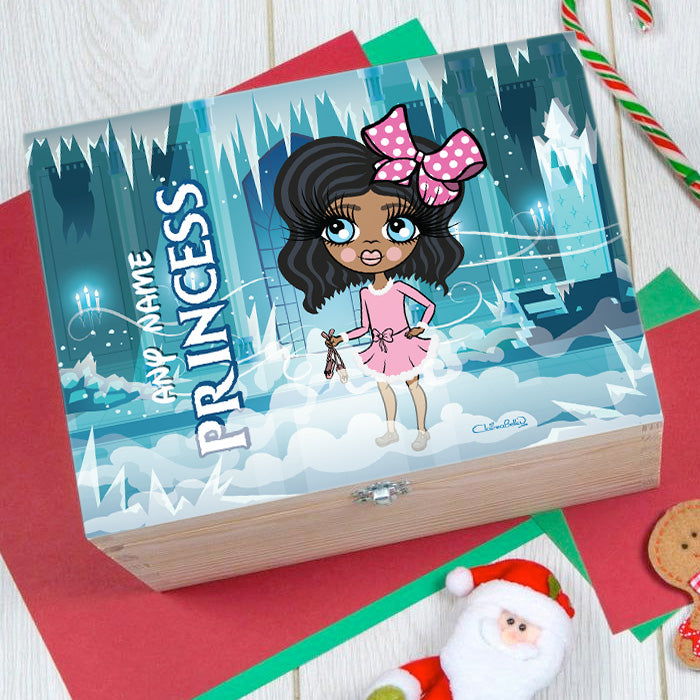 ClaireaBella Girls Ice Princess Christmas Eve Box