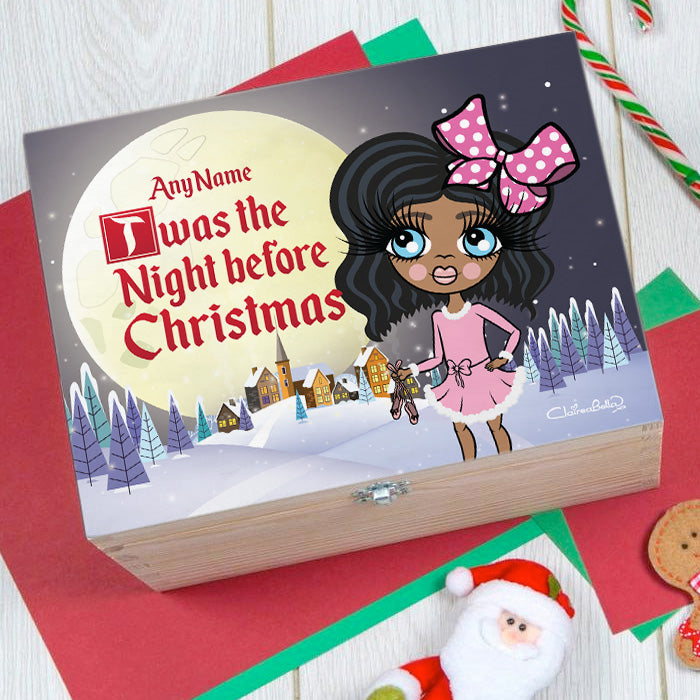 ClaireaBella Girls Twas The Night Before Christmas Eve Box
