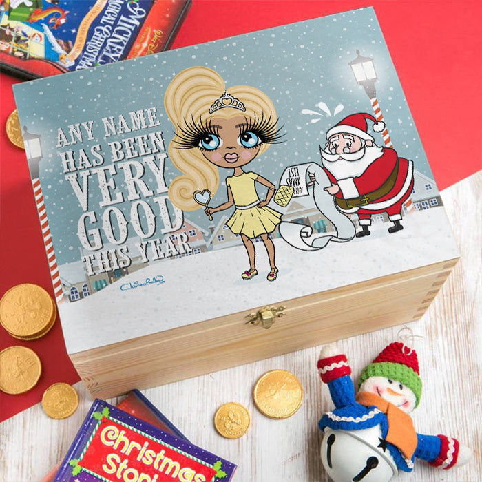 ClaireaBella Girls Santa's Nice List Christmas Eve Box