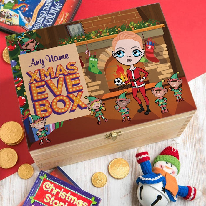 Jnr Boys Elf Fun Christmas Eve Box - Image 4