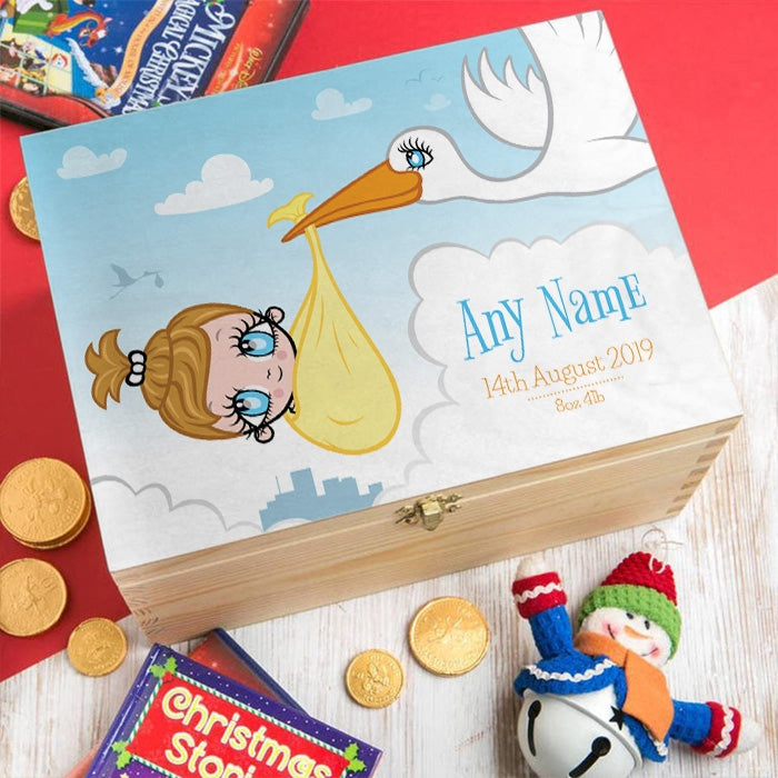Early Years Baby Stork Keepsake Box - Image 3