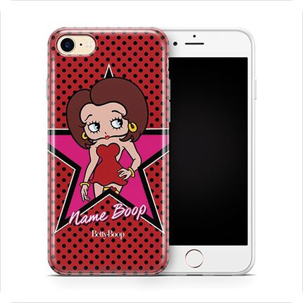 Personalised Betty Boop Protective Phone Cases