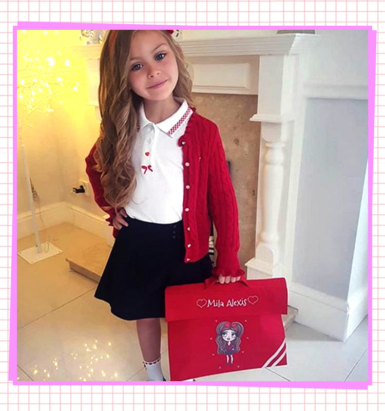 ebd62bd932 ClaireaBella Back To School - Personalised Bags and Stationery ...