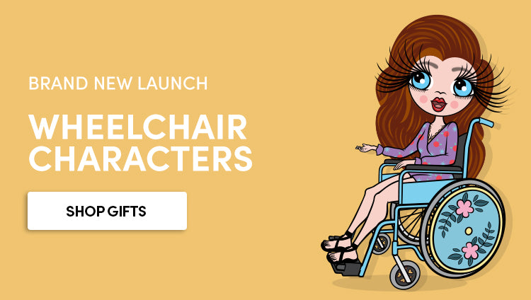 Wheelchair Users - Personalised gifts for wheelchair users