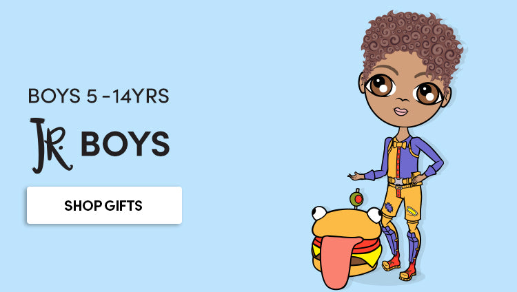 Jnr Boys - Personalised gifts for boys 5 - 14 years old