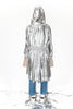 Metallic raincoat