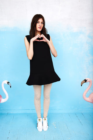 Black cutie dress with eye
