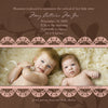 Baby Announcements {Sweet} - 5x5 Card 2