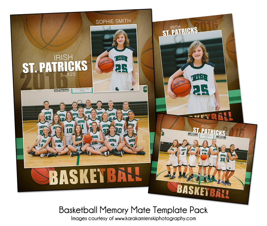 Basketball Pack F by KatieAnn Designs