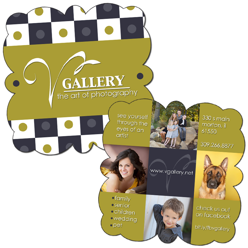 Boutique Curved C1 5x5 Studio Marketing Card