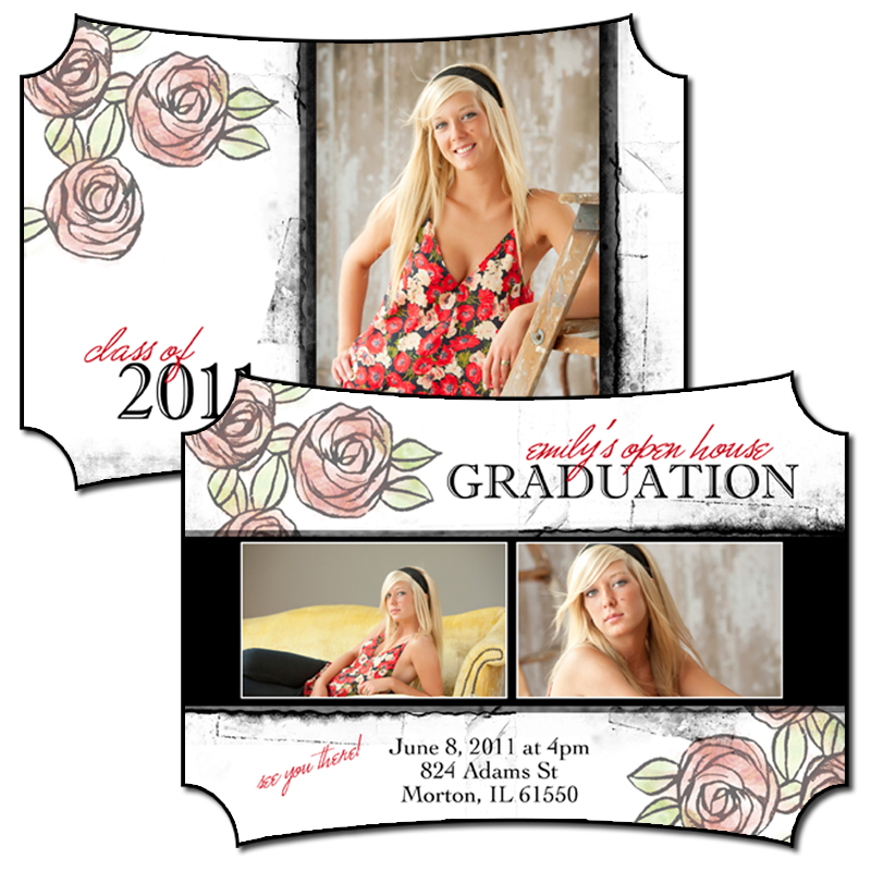 Senior Boutique Geometric D4 5x7