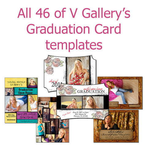 All 46 Grad Cards by V Gallery