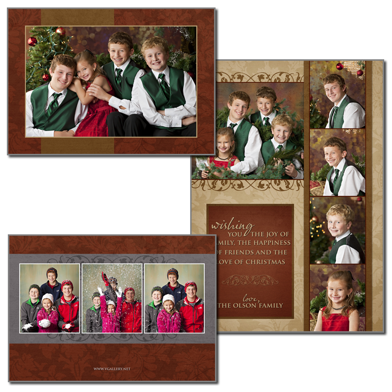 VGallery Holiday - 5x7 Folded Card 5