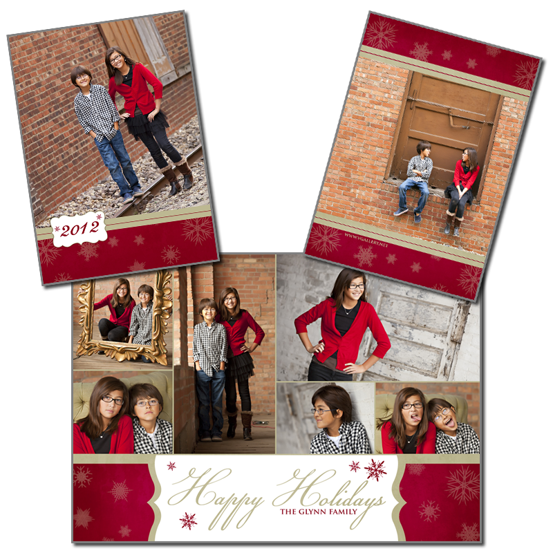 VGallery Holiday - 5x7 Folded Card 4