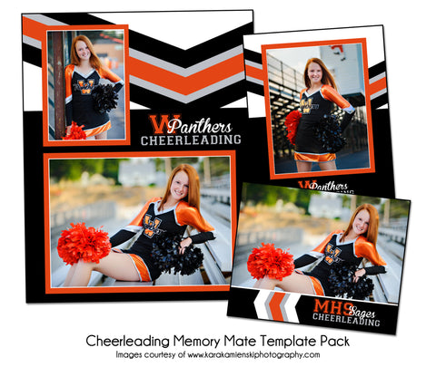 Cheerleading Pack A by KatieAnn Designs