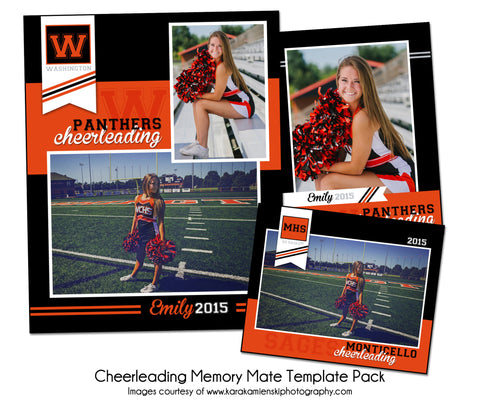 Cheerleading Pack B by KatieAnn Designs