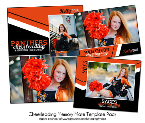 Cheerleading Pack C by KatieAnn Designs