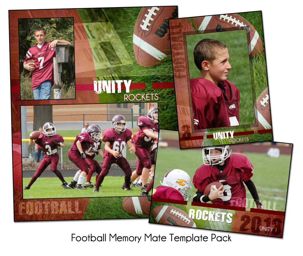 Football Pack A by KatieAnn Designs